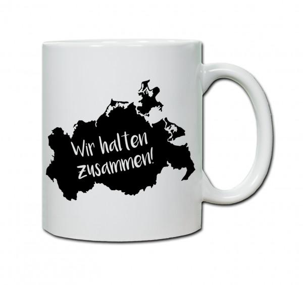 """Tasse """"Wir halten Zusammen"""" MV"""