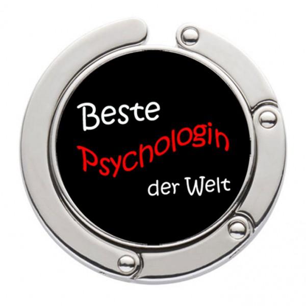 """""""Beste Psychologin der Welt"""" Taschenhalter mit magnet. Gliederhalterung - Taschenhaken & Handtaschenhalter"""