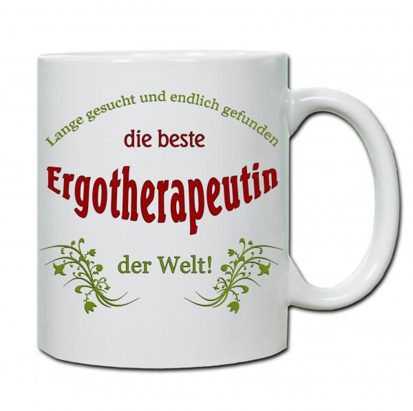 """""""Beste Ergotherapeutin der Welt..."""" Tasse, Keramiktasse"""