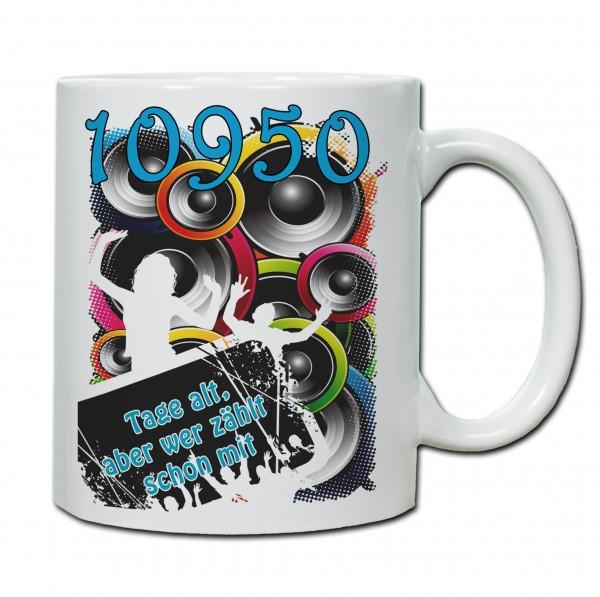 """""""30. Geburtstag - Tasse 05"""" Tasse, Keramiktasse"""