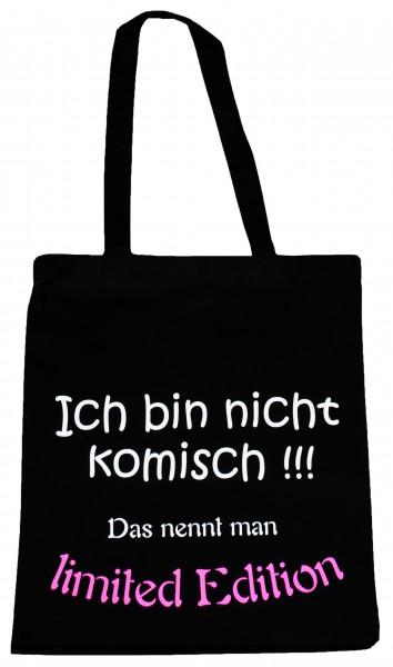 limited Edition ... Baumwollbeutel, Tasche, Bag - witziger Spruch Neon Shopper