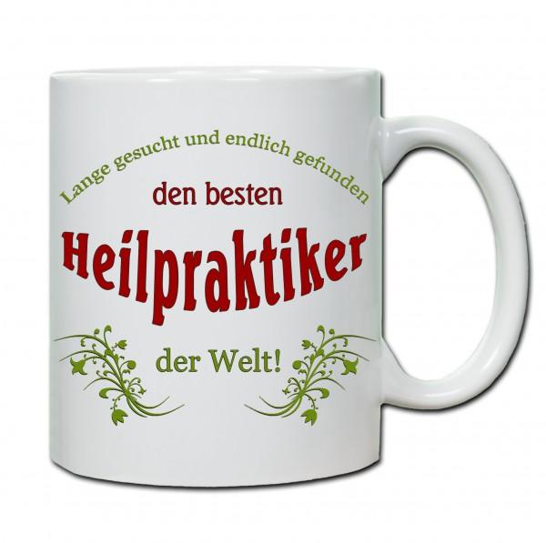 """Bester Heilpraktiker..."" Tasse, Keramiktasse"