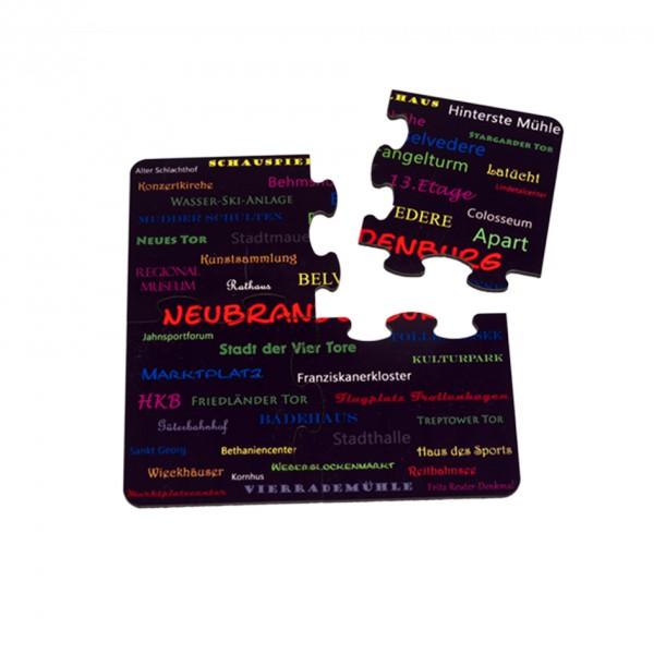 Untersetzer-Set 4-teilig in Puzzleform