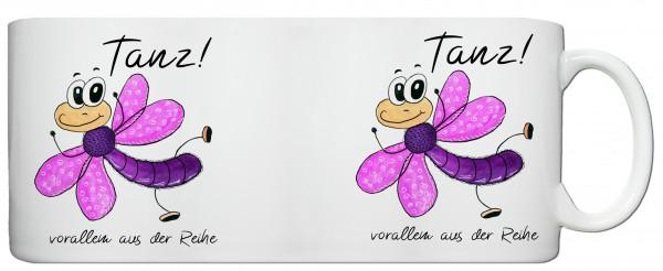 """Libellentasse """"Tanz! vorallem aus der Reihe"""""""