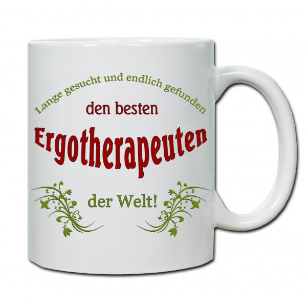 """""""Bester Ergotherapeut..."""" Tasse, Keramiktasse"""
