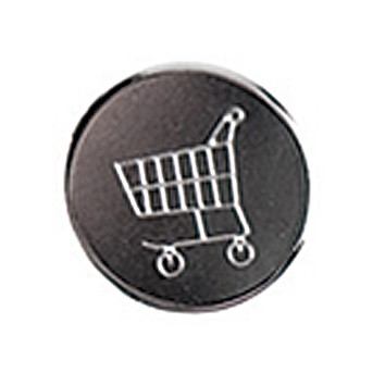 Ersatz-Einkaufswagenchip für Schlüsselanhänger