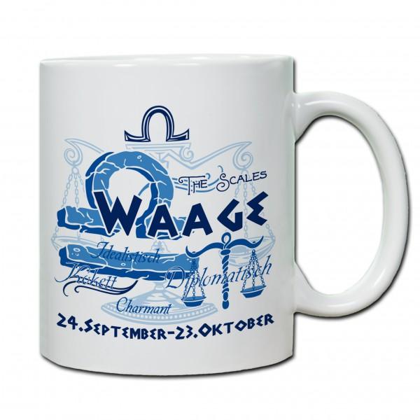 """""""Waage01"""" Tasse, Keramiktasse mit Sternzeichen"""