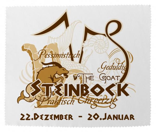 """""""Steinbock"""" Brillenputztuch Glasreinigungstuch 15x18 cm inkl. Verpackung"""