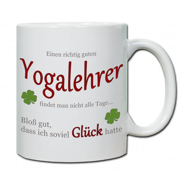 """""""Einen richtig guten Yogalehrer findet man nicht alle Tage..."""" Tasse, Keramiktasse"""
