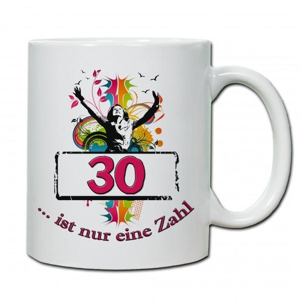 """""""30. Geburtstag - Tasse 03"""" Tasse, Keramiktasse"""