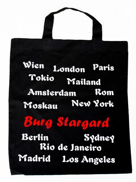 Stadt Burg Stargard - Baumwolltasche, Beutel, Bag - Shopper