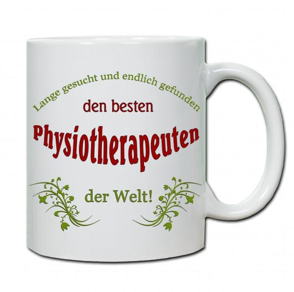 """""""Bester Physiotherapeut..."""" Tasse, Keramiktasse"""