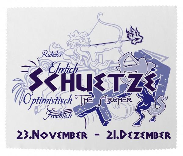 """""""Schütze"""" Brillenputztuch Glasreinigungstuch 15x18 cm inkl. Verpackung"""
