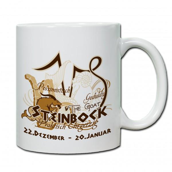 """""""Steinbock01"""" Tasse, Keramiktasse mit Sternzeichen"""