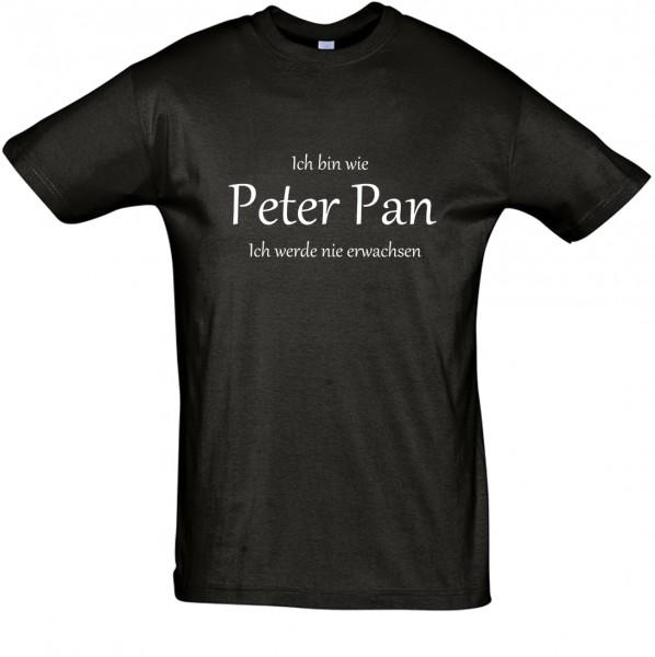 Peter Pan (2) T-Shirt, Fun-T-Shirt - bedruckt mit Folie