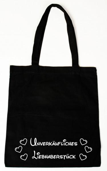 Unverkäufliches Liebhaberstück Baumwollbeutel, Tasche, Bag - witziger Spruch
