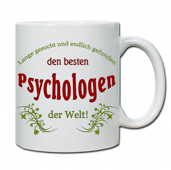 """Bester Psychologe..."" Tasse, Keramiktasse"