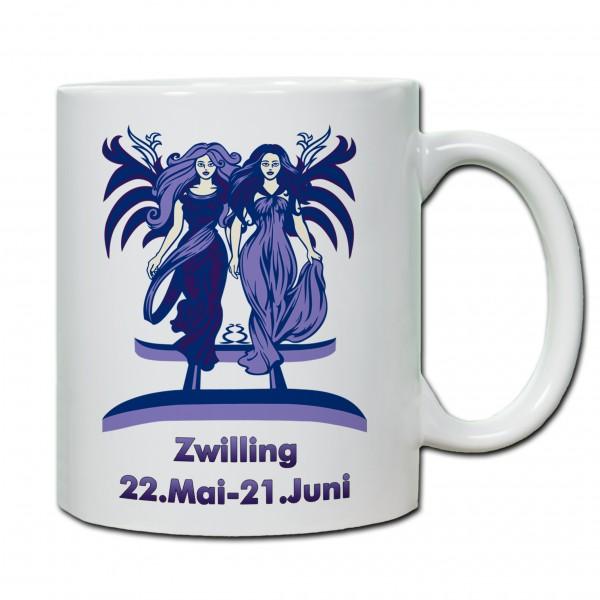 """""""Zwilling"""" Tasse, Keramiktasse mit Sternzeichen"""