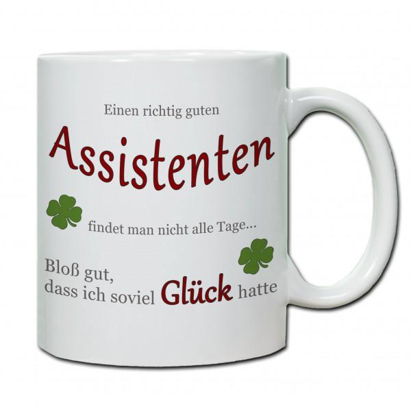 """""""Einen richtig guten Assistenten..."""" Tasse, Keramiktasse"""
