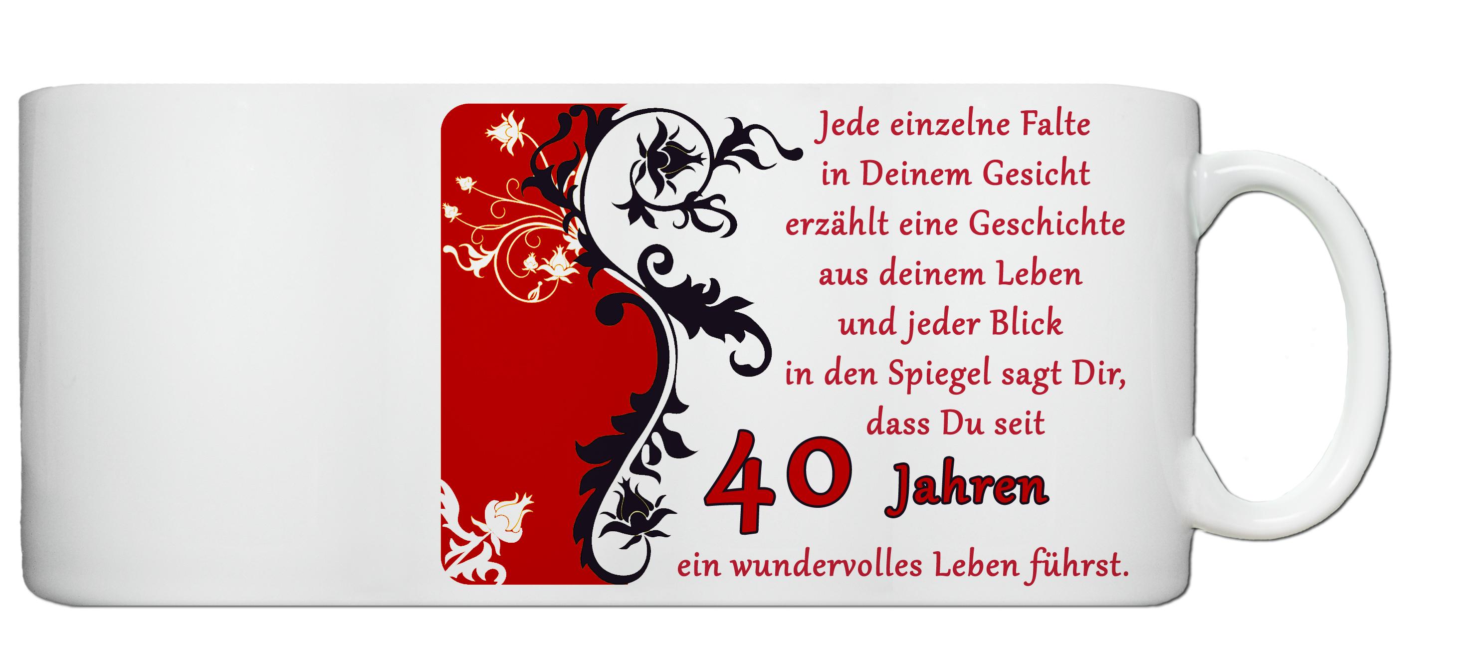 Geburtstagsgrüße Zum 40. Geburtstag