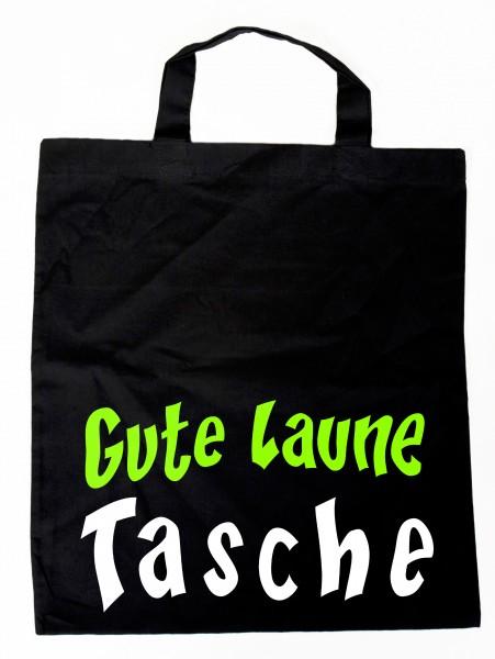 Gute Laune Tasche - Baumwollbeutel, Tasche, Bag - witziger Spruch