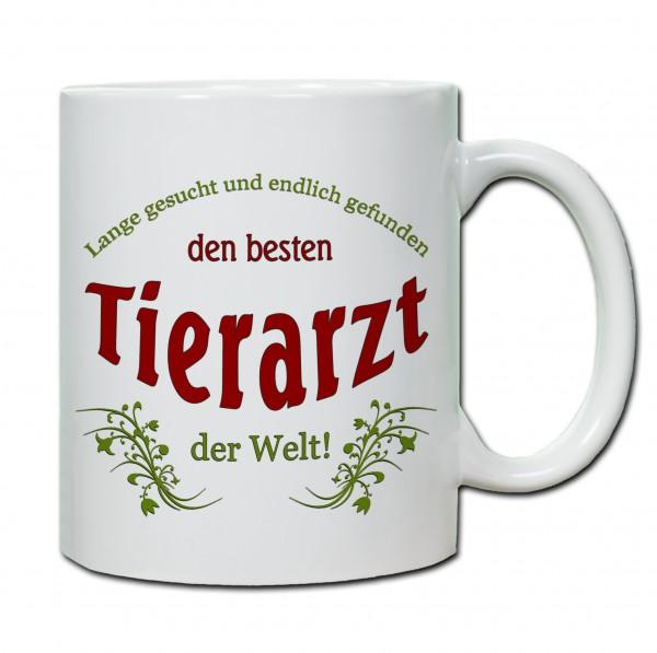 """Bester Tierarzt..."" Tasse, Keramiktasse"